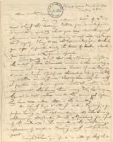 Letter from  Gerrit Smith  to Lewis Tappan