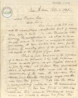 Letter from  George E. Day to Lewis Tappan