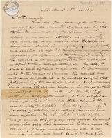 Letter from  Charles Hooker to Lewis Tappan