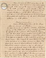 Testimony of Richard Robert Madden regarding his conversation with Senor de la Vega, Spanish Consul at Boston