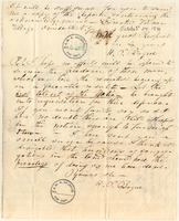 Letter from  H.P. Bogue  to Lewis Tappan