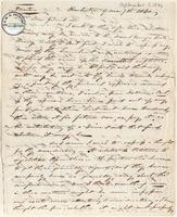 Letter from  Emmor Kimber to Lewis Tappan