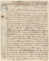 Letter from  W.S. Holabird to Lewis Tappan