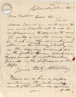 Letter from A. Willey to Lewis Tappan
