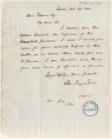 Letter from  Ellis Gray Loring  to Lewis Tappan