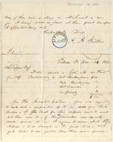 Letter from  A.A. Guthrie  to Lewis Tappan