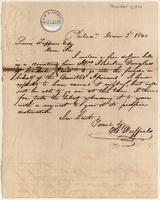 Letter from  H. Duffield   to Lewis Tappan