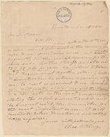 Letter from  Charles T. Torrey  to Lewis Tappan