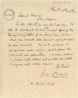 Letter from  Isaac Parrish   to Lewis Tappan