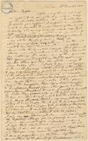 Letter from  J. Holcomb  to Lewis Tappan