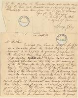 Letter from  George Cary  to Lewis Tappan