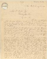 Letter from  Lewis Tappan and Simeon S. Jocelyn to John T. Norton