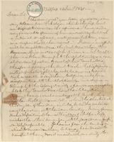 Letter from  William Jay  to Lewis Tappan