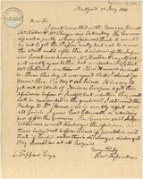 Letter from  Thomas Fessenden  to Lewis Tappan