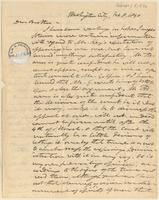 Letter from  Joshua Leavitt to Lewis Tappan