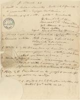 Minutes of Amistad Committee, 23 March 1841