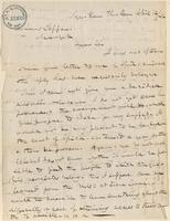 Letter from  B. Griswold to Lewis Tappan