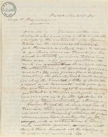 Letter from  Joshua Leavitt to George W. Alexander