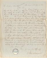 Letter from  John Dougall  to Joshua Leavitt