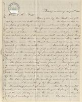 Letter from  Samuel D. Hastings to Lewis Tappan