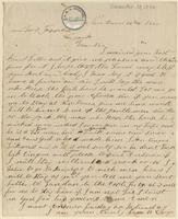 Letter from James B. Covey to Lewis Tappan