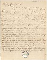 Letter from [Sessi] to Lewis Tappan