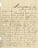 Letter  from [David Pierson] to William H. Pierson