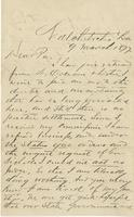 Letter from David Pierson to William H. Pierson