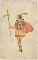 Mistick Krewe of Comus 1930 costume 54