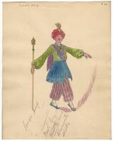 Mistick Krewe of Comus 1927 costume 94