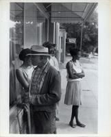 People waiting to register