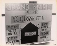 Grand Marie Co-op Sign 1