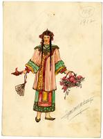 Mistick Krewe of Comus 1912 costume 108