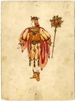 Mistick Krewe of Comus 1909 costume 87