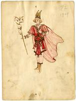 Mistick Krewe of Comus 1909 costume 92