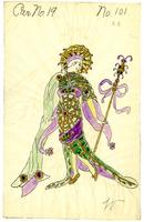 Mistick Krewe of Comus 1916 costume 101