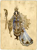 Mistick Krewe of Comus 1909 costume 95