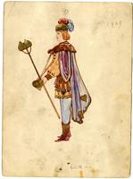 Mistick Krewe of Comus 1909 costume 72