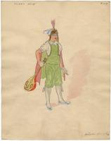 Mistick Krewe of Comus 1927 costume 108