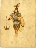 Mistick Krewe of Comus 1909 costume 49