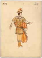 Mistick Krewe of Comus 1905 costume 120 alternate