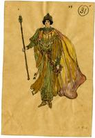 Mistick Krewe of Comus 1910 costume 31