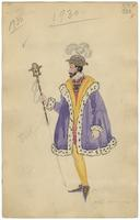 Mistick Krewe of Comus 1930 costume 72