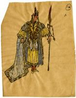 Mistick Krewe of Comus 1910 costume 14
