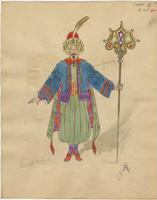 Mistick Krewe of Comus 1928 costume 105
