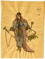 Mistick Krewe of Comus 1910 costume 47
