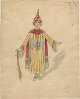 Mistick Krewe of Comus 1928 costume 21