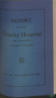Charity Hospital Report 1945-1946