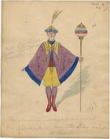 Mistick Krewe of Comus 1928 costume 12