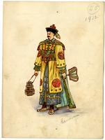 Mistick Krewe of Comus 1912 costume 25